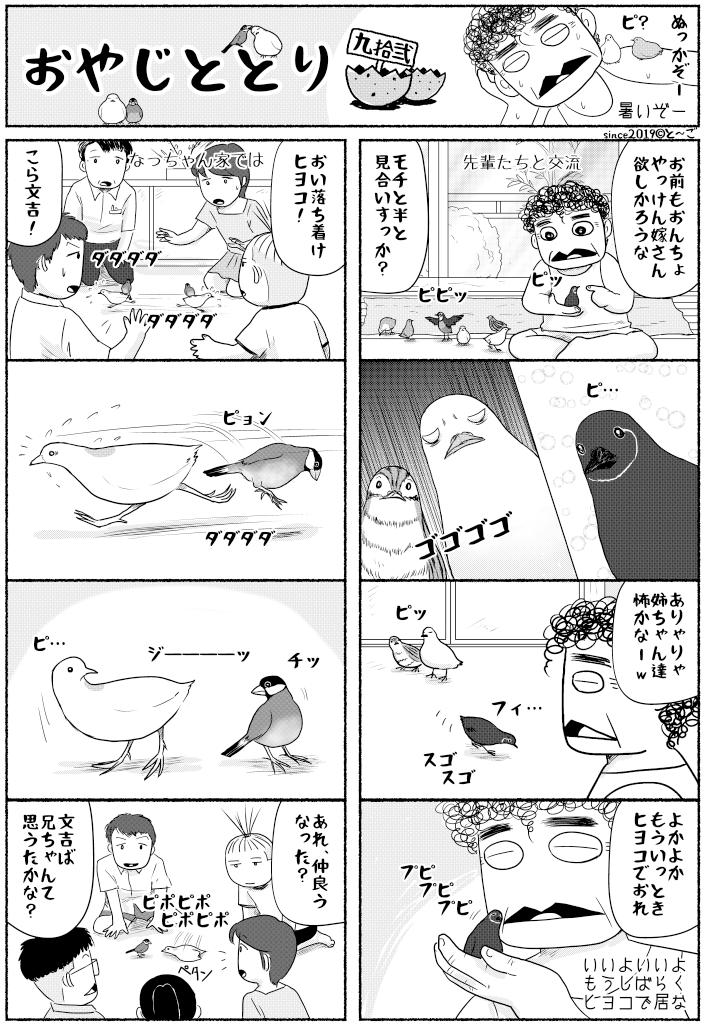 漫画おやじととり第九拾壱回